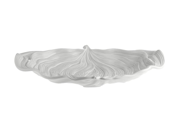 Leaves Leaf Platter - Large - White