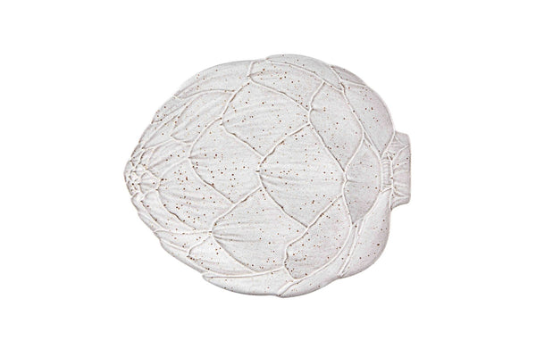 Artichoke Platter - Medium - White