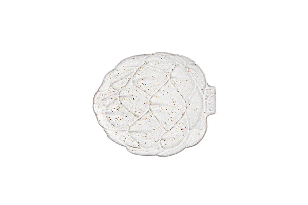 Artichoke Side Plate - White