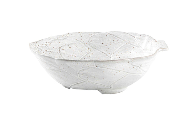 Artichoke Salad Bowl - White