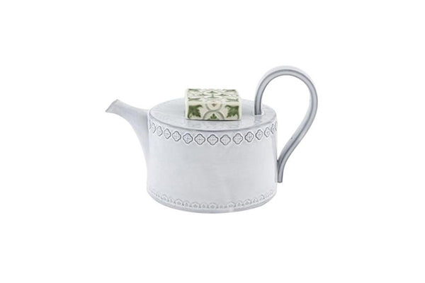 Rua Nova Tea Pot - White Antique