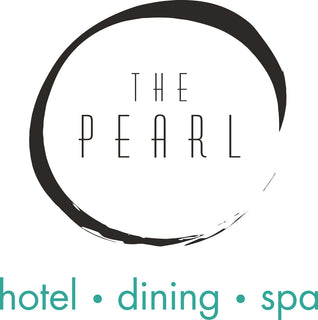 Logo for The Pearl, hotel, dining, spa