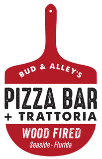 Logo for Bud & Alley's Pizza Bar + Trattoria