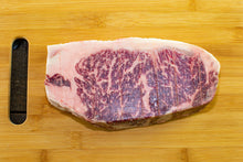 wagyu signature new york strip from arrowhead beef