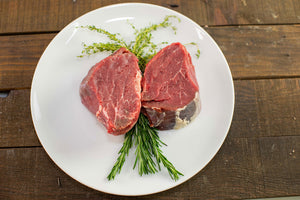 grass fed Tenderloin Filet from arrowhead beef