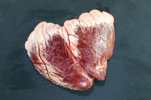 grass fed heart from arrowhead beef