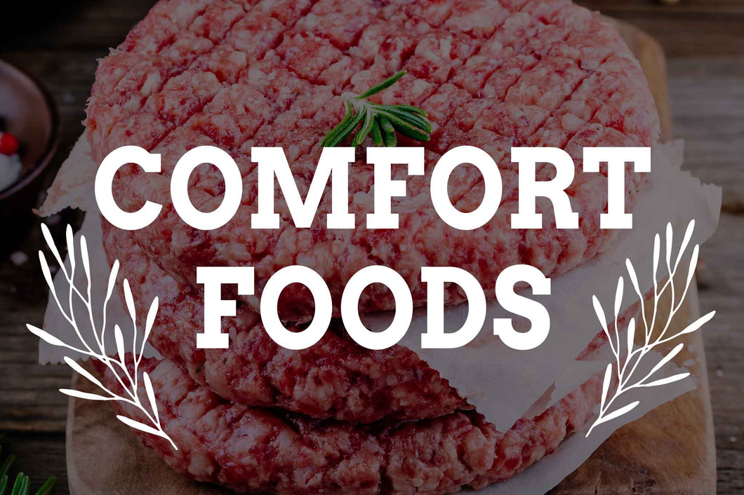 comfort foods from Arrowhead Beef
