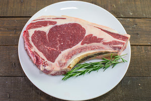 grass fed ribeye steak from Arrowhead Beef