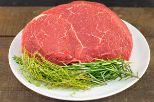 grass fed sirloin tip roast from arrowhead beef