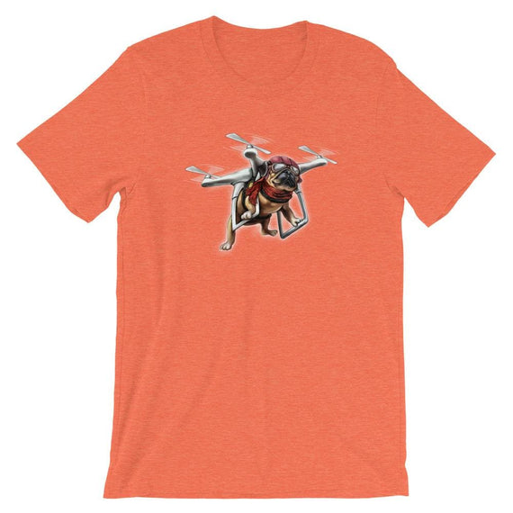 Aviator Pug - Heather Orange / S