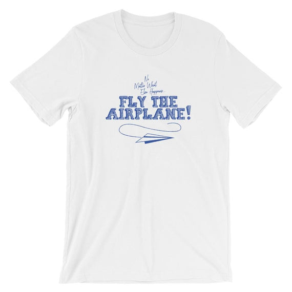 Fly the Airplane | Funny Aviation T-Shirt - XS - Tee
