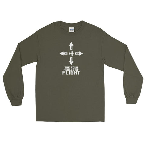 Four Forces of Flight LS Shirt
