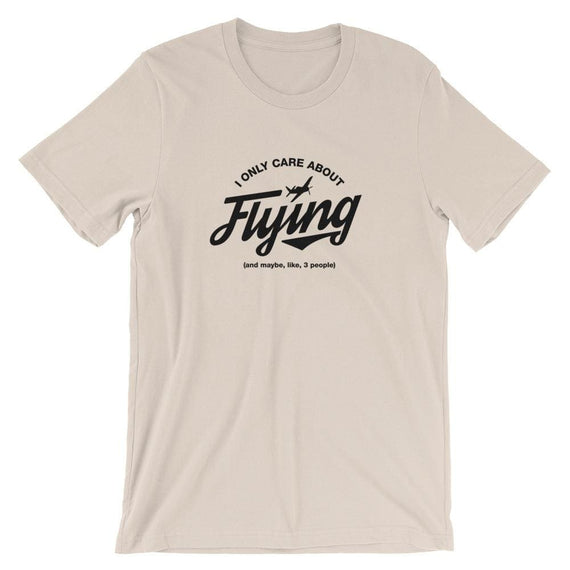 I Only Care About Flying - Soft Cream / S - Tee