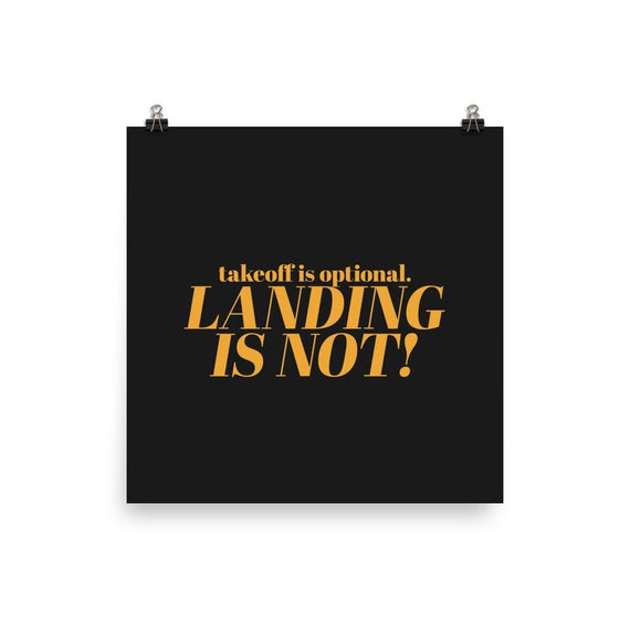 Takeoff And Landing Advice - 14×14