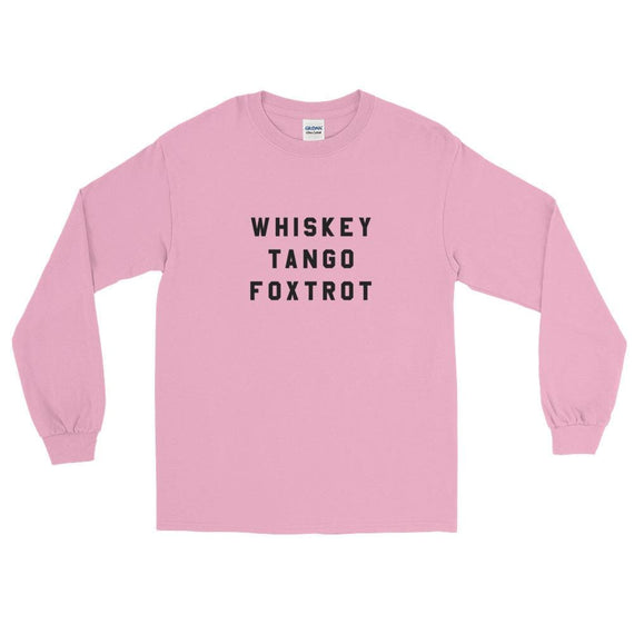 Wtf Ls T-Shirt - Light Pink / S