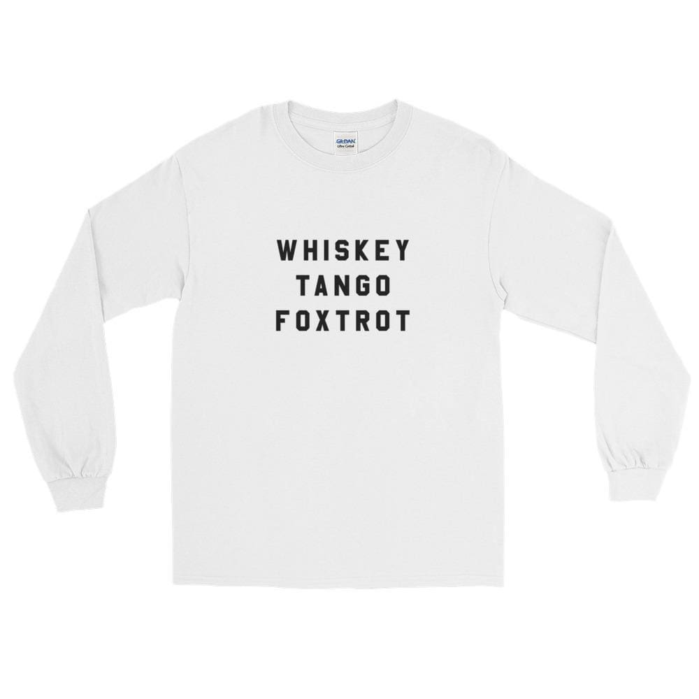 Wtf Ls T-Shirt - White / S