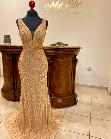 Vestido Golden Goddess