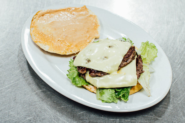 SNACK ULYSSE - BIG CHEESE BURGER (double steak et fromage)