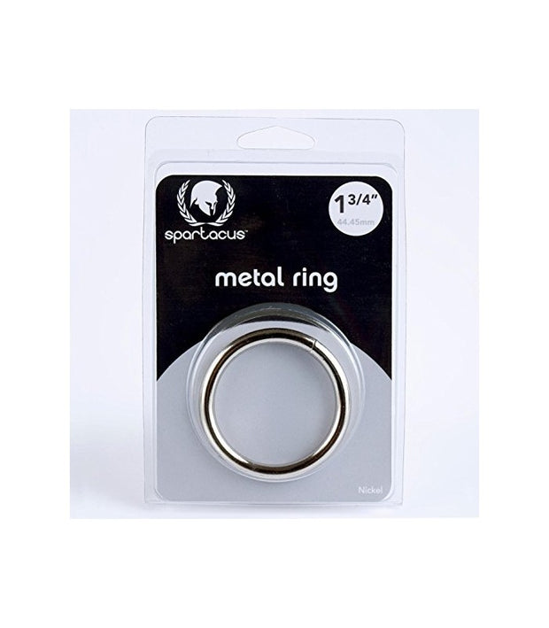 "BLACK METAL RING 1 3/4"" - SPARTACUS"