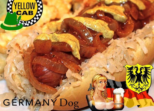 YELLOW CAB - HOT DOG MEAT GERMANY
