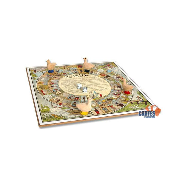 JEU DE L'OIE TRADITIONNEL - 32 CM