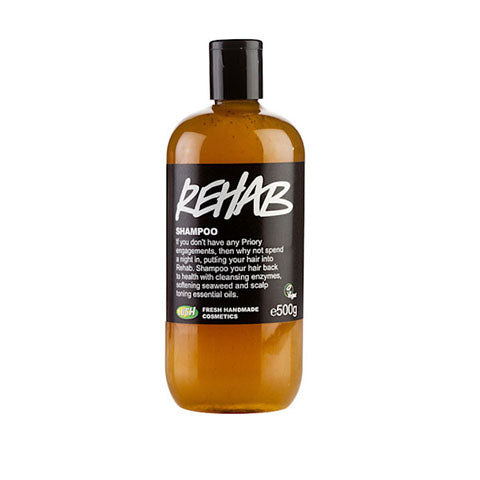 rehab by lush - best shampoo for colored hair