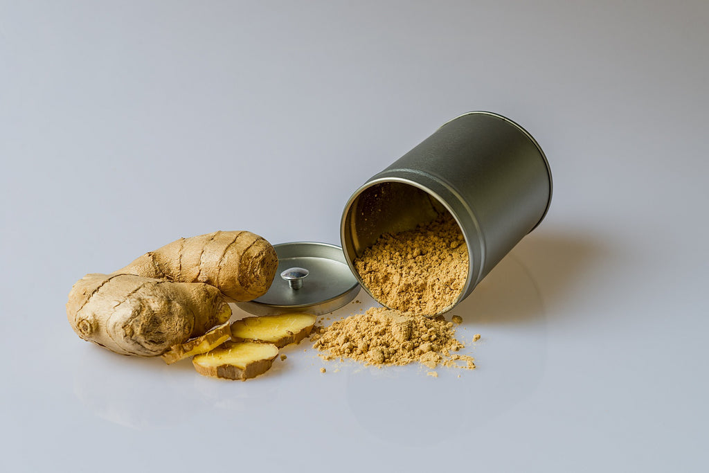 Ginger and powdered ginger