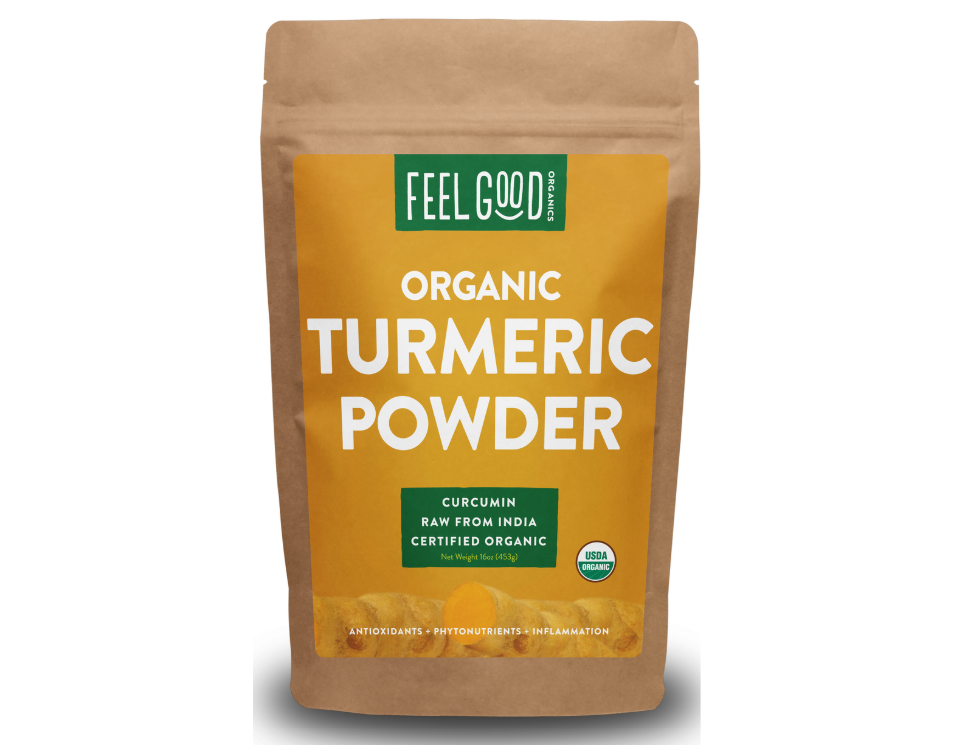 Feel Good Organics Turmeric Powder
