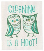 Danica Swedish Dishcloth A Hoot