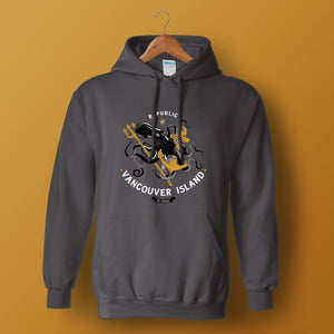 Republic of Vancouver Island Hoodie Anchor