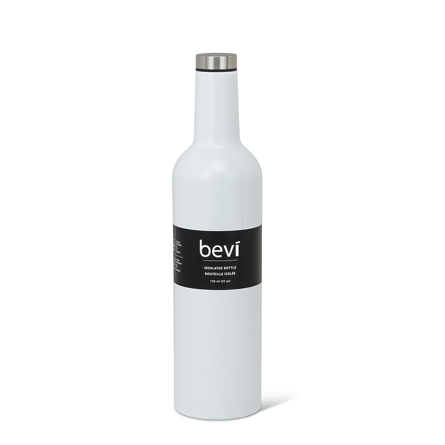 Bevi Insulated Bottle White