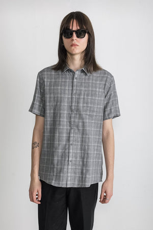 National Standards Double Face Plaid Grey