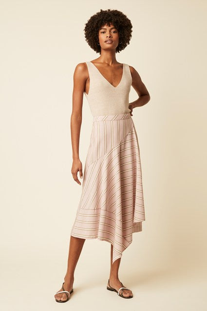 Great Plains Palermo Stripe Skirt