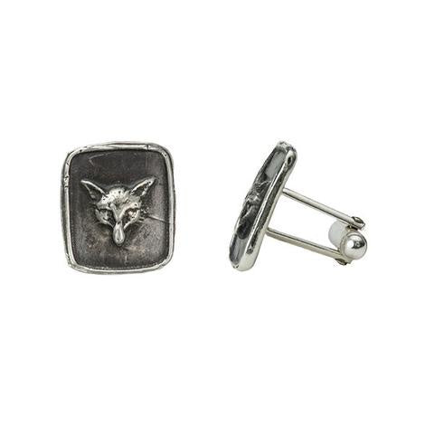 Pyrrha Fox Head Cufflinks