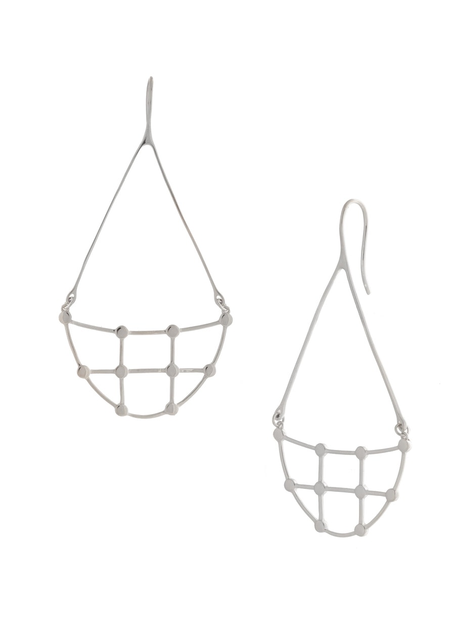 Sarah Mulder Willa Earrings Silver