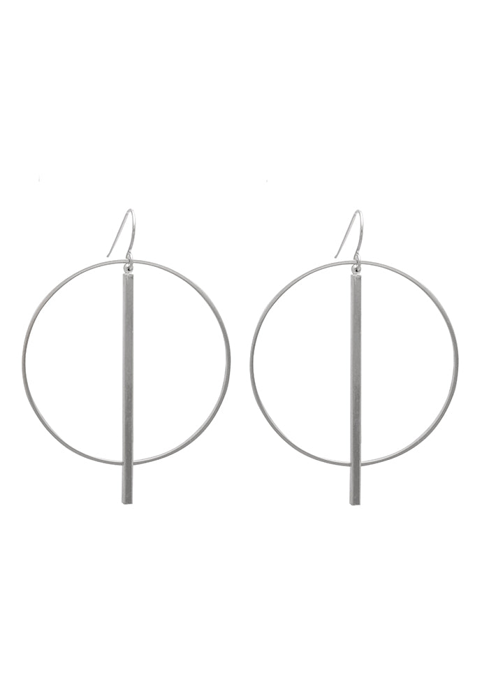 Sarah Mulder Tempo Earrings Silver
