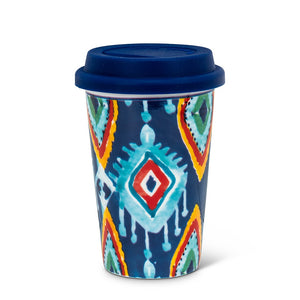 Blue Tribal Insulated Mug