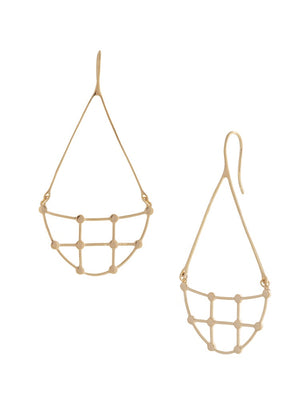 Sarah Mulder Willa Earrings Gold