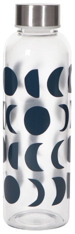 Danica Glass Water Bottle Ink Eclipse