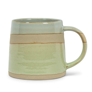 Assymetrical Mug Blue/Green