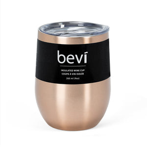 Bevi Insulated Wine Tumbler Copper