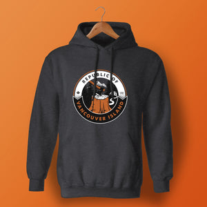 Republic of Vancouver Island Hoodie Axe