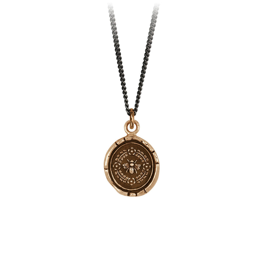 Pyrrha Talisman Honey Bee Bronze