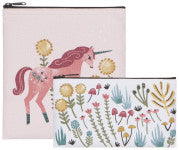 Danica Snack Bag Unicorn Set of 2