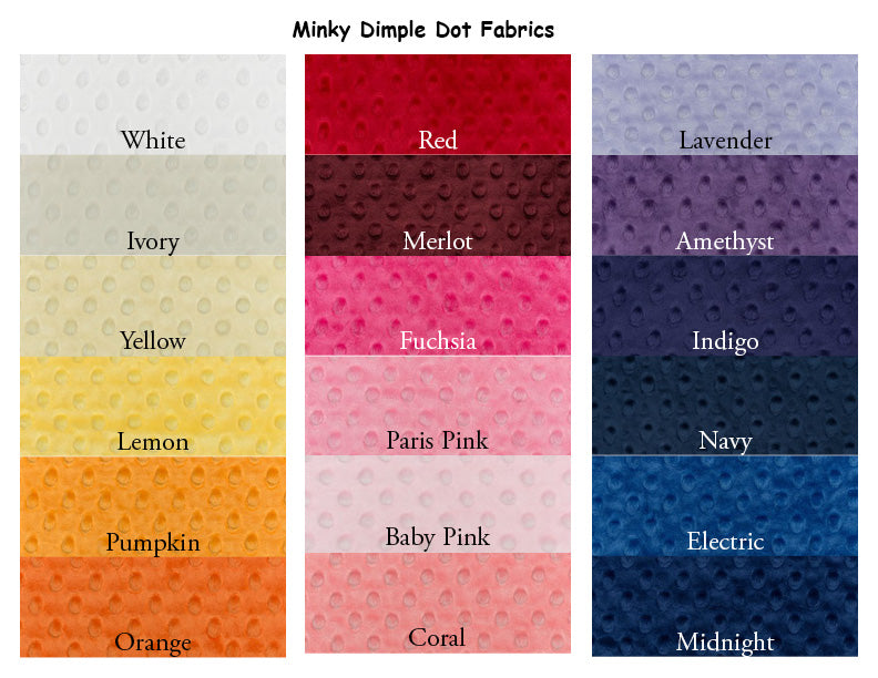 Minky Dot Weighted Blanket