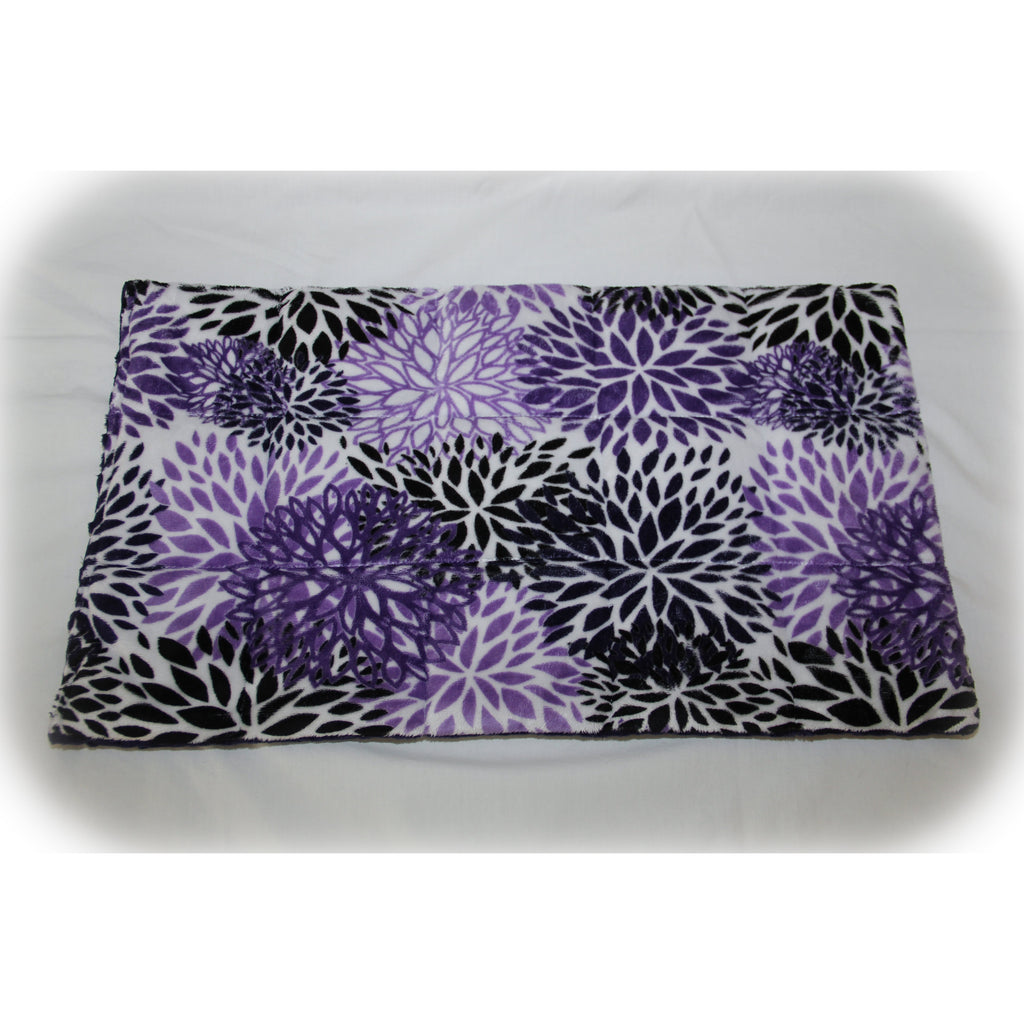 Large Weighted Lap Pad 1-3 LBS Blooms Minky