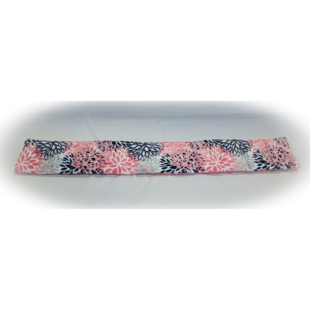 Small Weighted Neck Wrap Blooms Minky
