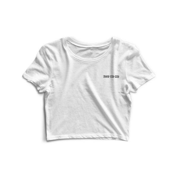 Crop Top TTK - Blanc