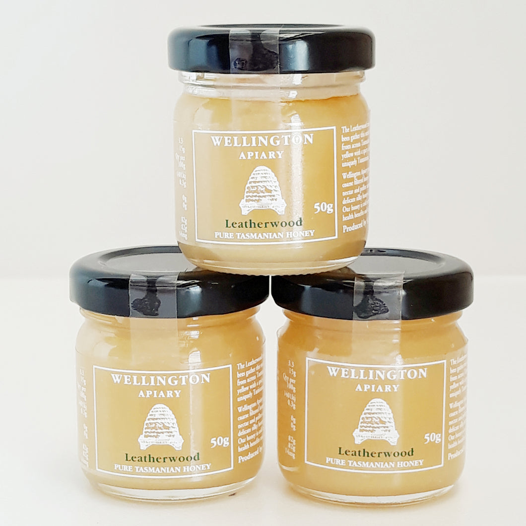 Pure Leatherwood Honey ~ 50g