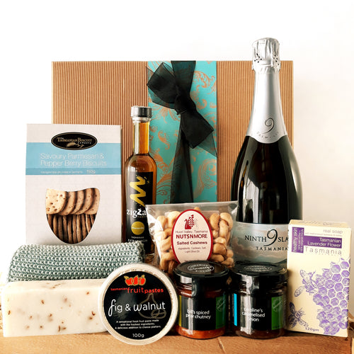 Savoury Pamper Hamper - Optional Wine